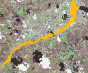 Ejemplo de Estudio de Inundabilidad en un Plan General