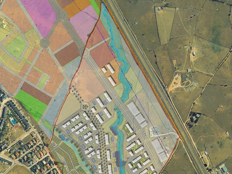Plan Parcial de Arroyo Espino. Urbanismo